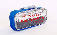 Сетка для волейбола с металлическим тросом PW-07: 9,5x1м, ячейка 10x10см, фото 1