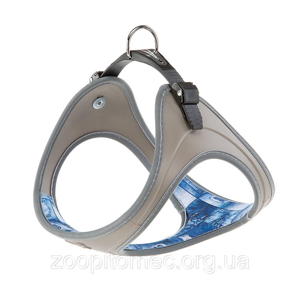 Шлея для собак ERGOFLEX P FASHION DENIM L Ferplast (Ферпласт) с мягкой подкладкой