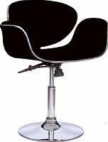 Кресло парикмахерское, кресло дизайнерское, кресло для салона красоты (СТУДИО черный)