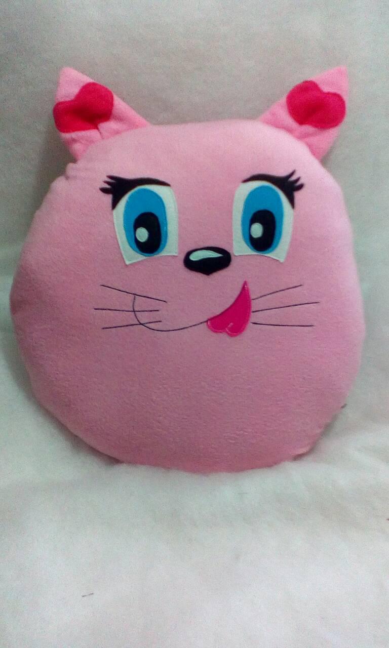 Кот Vikamade круглая подушка. ( 50*50см)