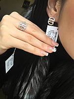Серебряное кольцо Арт.383