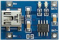 Контроллер заряда Li-Ion аккумуляторов TP4056 miniUSB