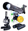 Телескоп, микроскоп, бинокль, фото 3