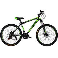 "Велосипед горный Cross Hunter 26"" (Black-Green-White)"