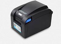LAN+COM+USB Универсальный термопринтер этикеток и чеков Xprinter XP-358BM Гарантия!
