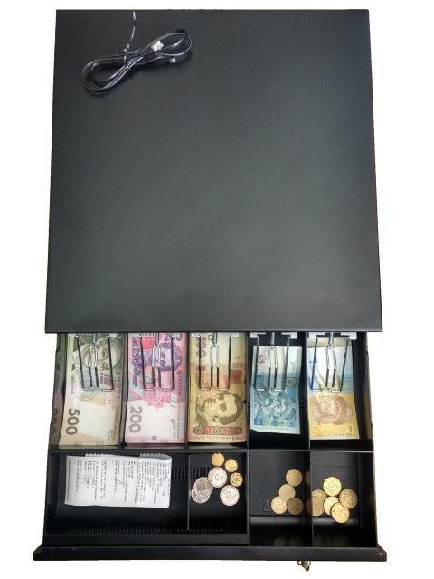 ✅ Горизонтальний грошовий ящик Jepod JP-001