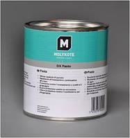 Густая паста светлой окраски для сборки и постоянной смазки металлических деталей Molykote DX
