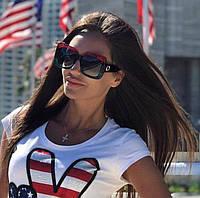 Супер модные женские солнцезащитные очки 2018 года!!! (линза - поликарбонат, квадратная оправа)