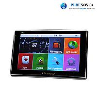 GPS навигатор Pioneer/ 5 дюймов сенсорный экран/ + 4Gb и Fm