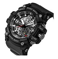 Наручные спортивные часы Sanda Saat Relogio Masculino 759 Black