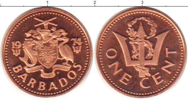 Барбадос 1 цент 2002г.