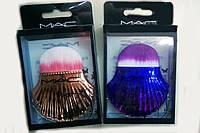 Кисть для  макияжа румян и тональной основы (ракушка) MAC  10см