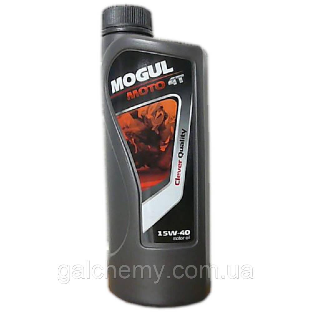 Mogul 15W-40 Moto 4T / 1л./ Олива моторна