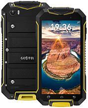 "Geotel A1 yellow IP67  1/8 Gb, 4.5"", MT6580, 3G"