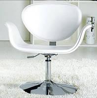 Кресло парикмахерское, кресло офисное, кресло для салона красоты (СТУДИО белый)