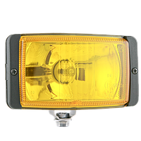 Противотуманные фары Wesem HMz 083.31 138х78mm дальний желтый c крышкой 2 штуки