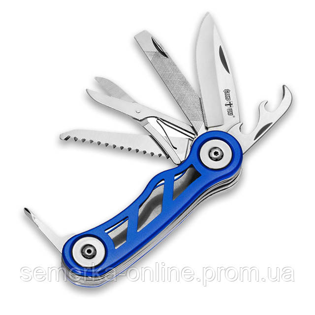 Нож для быта GRAND WAY мультитул, складной, 7 функций