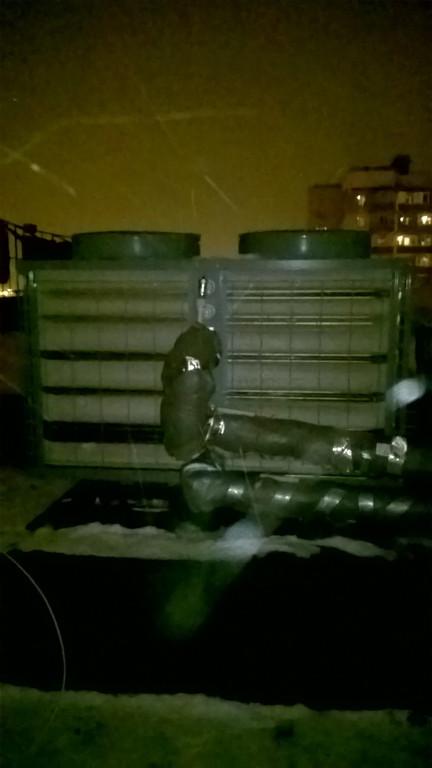 Тепловой насос TEPLOMIR EVI30 в г. Киев