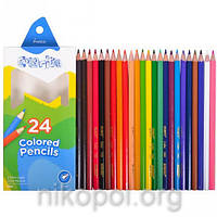 Набор цветных карандашей MARCO Colorite 1100-24CB, 24 цвета