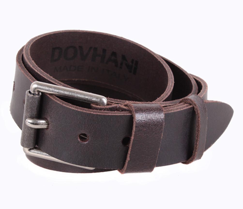 Мужской кожаный ремень Dovhani SP999-13 115-125 см Коричневый