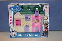 Игрушечный домик с мебелью для кукол Mini House Frozen