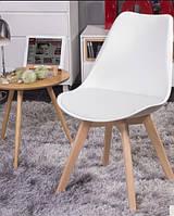 Стул офисный, стул для дома, стул для посетителей, стул обеденный(ТОР белый)