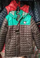 Куртка Монклер для мальчика 6-12 лет демисезонная
