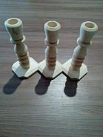 Подсвечник Ольха квадратный 140х60 мм