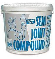 Шпаклевка финишная Sem Joint Compound ТМ Семин (Semin), 25 кг