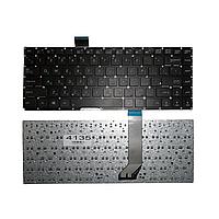 Клавиатура Asus X402 X402C R408 R408C R408CA S400 S400C S400CA, черная без рамки, Прямой Enter