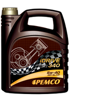Синтетическое моторное масло Pemco iDrive340 SAE 5W-40 API SL/CF 5L.