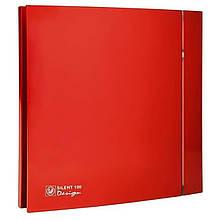 Вытяжной вентилятор Soler&Palau SILENT-100 CZ RED DESIGN 4C