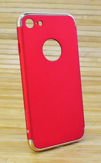Пластиковый чехол на Айфон, iPhone 7 FSHANG Seven Send красный