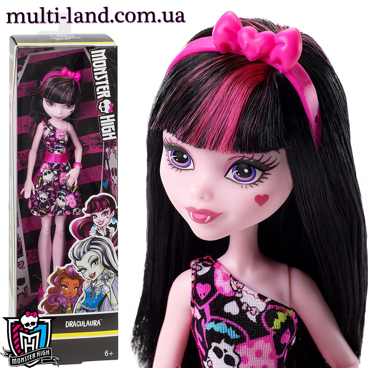 Кукла Монстер Хай Дракулаура Monster High Draculaura Doll