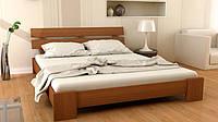 Деревянная кровать из массива ольхи  Сакура