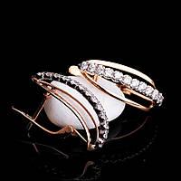 Женские сережки из золота