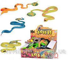 Резиновые животные змея змеи мягкие антистресс, 7213, 003883