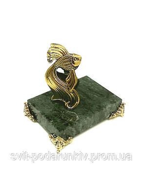 """Статуэтка """"Золотая Рыбка"""" на подставке с бронзовыми ножками, фото 2"""