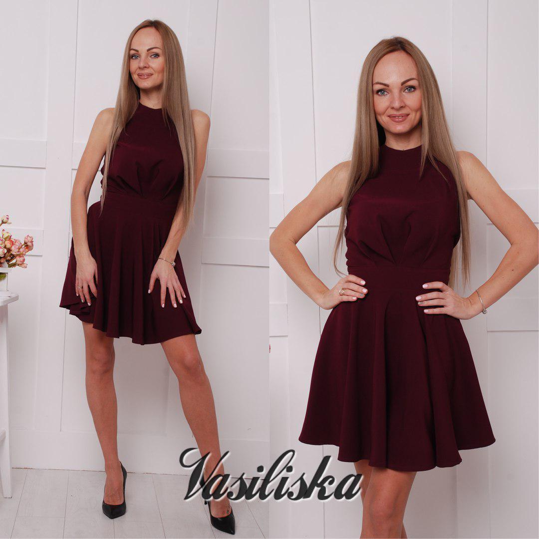 0f57b186425 Стильное короткое платье ан-02742-1 — купить недорого в Харькове в ...