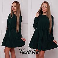 Стильное свободное платье ан-02743-1, фото 1