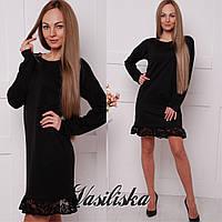 Праздничное трикотажное платье ан-02746-1, фото 1