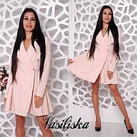 Стильное платье-плащ ан-02764-2, фото 1