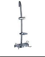Стойка для душа металлическая Dishi L106-TP-C (двойная мыльница Nozzle)