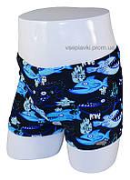 Детские купальные плавки боксеры для мальчика 88-4(10)