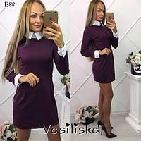Красивое повседневное платье ан-180257-4