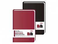 Записная книжка Deli 3316 BO,BK 120л ПВХ 105х152 мягк обл Код: 653610216