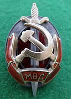 Нагрудный знак «Заслуженный работник МВД» 1962 г.