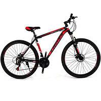 "Велосипед горный Cross Hunter 29"" (Black-Red-White), фото 1"