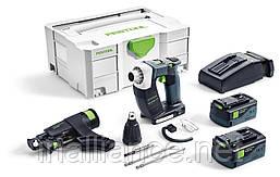 Аккумуляторный строительный шуруповёрт DURADRIVE DWC 18-2500 5,2 Li-Plus Festool 574743