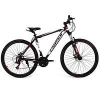 "Велосипед горный Cross Hunter 29"" (White-Black-Red), фото 1"